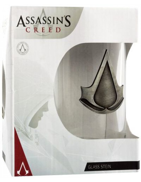 Assassin's Creed Logo Assassin's Creed Chope à bière transparent
