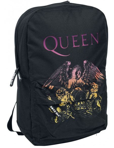 Queen Bohemian Crest Sac à Dos noir