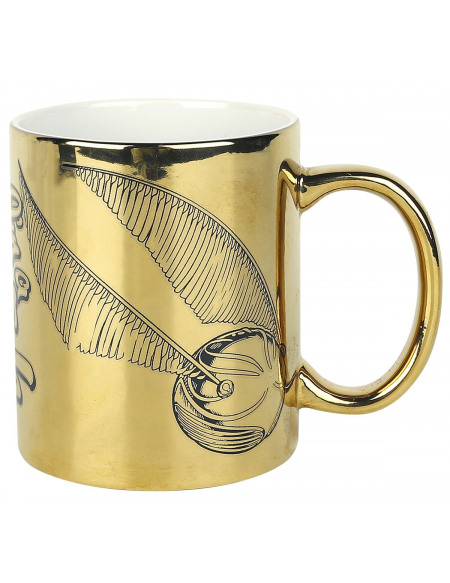 Harry Potter I'm a Catch - Mug Avec Imprimé Aluminium Mug couleur or