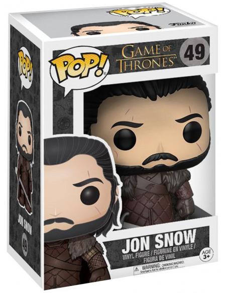 Figurine Funko Pop Game of Thrones Jon Snow 9 cm