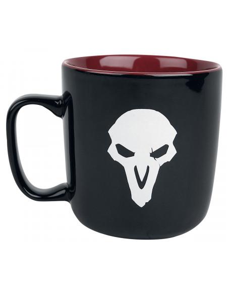 Overwatch Faucheur Mug noir/rouge/blanc