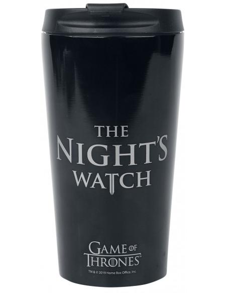 Game Of Thrones Nights Watch Gobelet noir