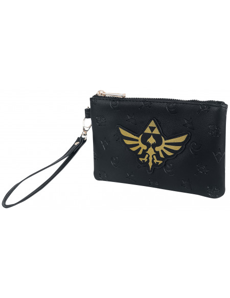 The Legend Of Zelda Tri-Force Dorée Sac à Main noir