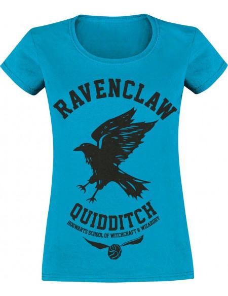 Harry Potter Serdaigle - Quidditch T-shirt Femme bleu