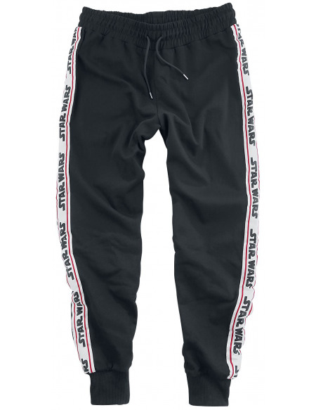 Star Wars Dark Vador - Rayures Pantalon de Jogging noir