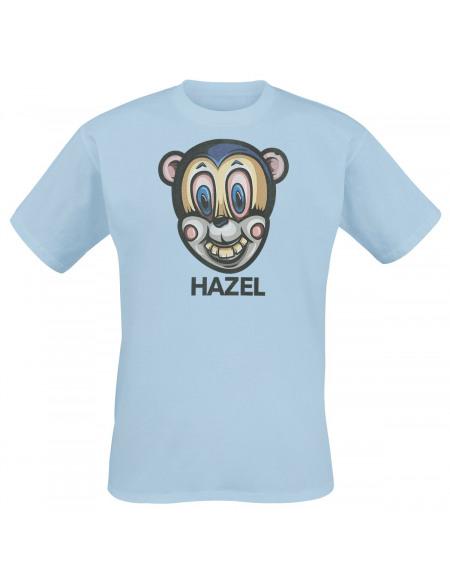 The Umbrella Academy Hazel Mask T-shirt bleu clair