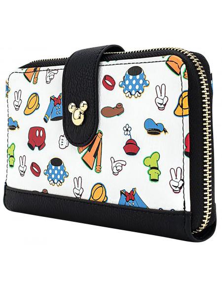 Mickey & Minnie Mouse Loungefly - Die Sensationellen 6 Portefeuille Standard