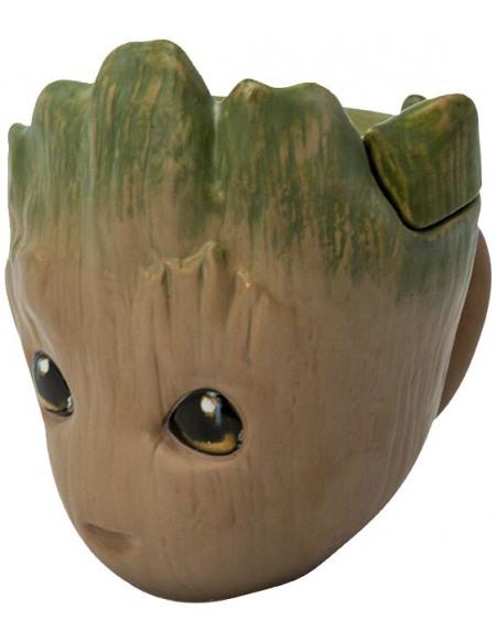 Les Gardiens De La Galaxie Groot - Mug 3D Mug multicolore