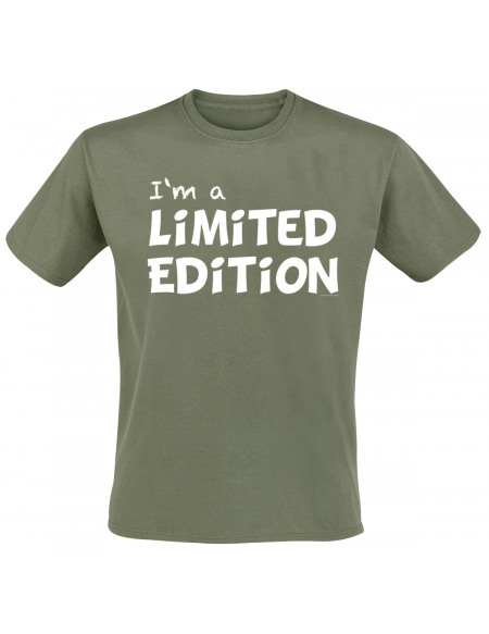 I'm A Limited Edition T-shirt olive