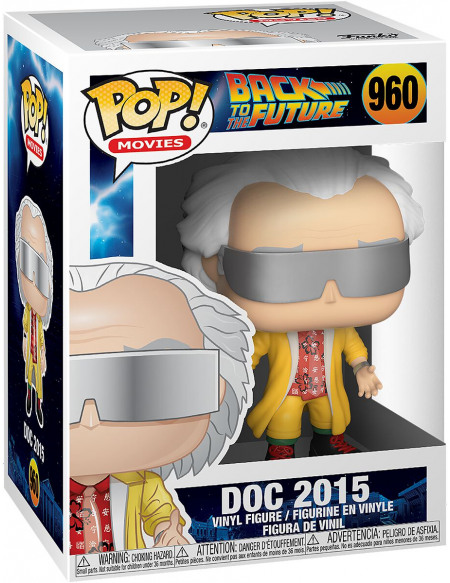 Figurine Funko Pop Movies Back to the Future Doc 2015