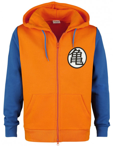 Dragon Ball Dragon Ball Z - Cosplay Sweat Zippé à Capuche orange/bleu