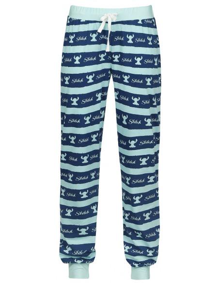 Lilo & Stitch Stripes Bas de pyjama multicolore
