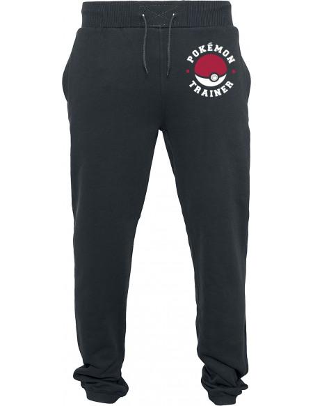 Pokémon Dresseur Pantalon de Jogging noir