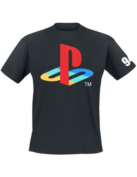 Playstation Logo T-shirt noir