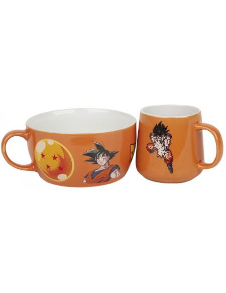Dragon Ball Z Goku Set petit déjeuner multicolore