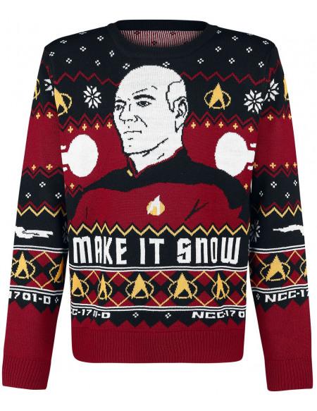 Star Trek Make It Snow Pull multicolore