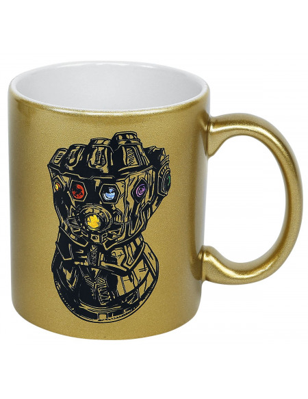 Avengers Gant De L'Infini Mug couleur or