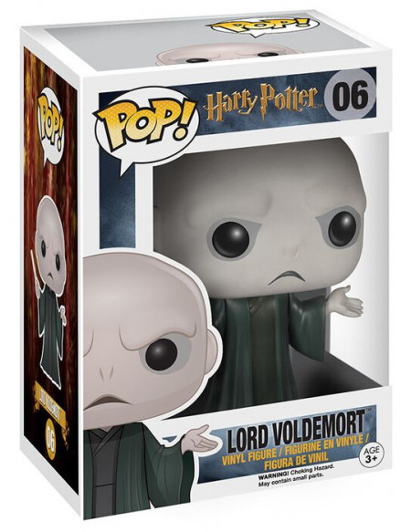 Harry Potter Figurine En Vinyle Lord Voldemort 06 Figurine de collection Standard