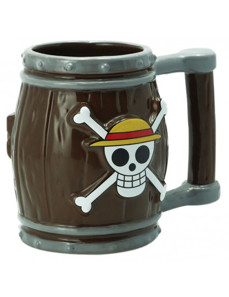 One Piece Fass - 3D Tasse Mug multicolore