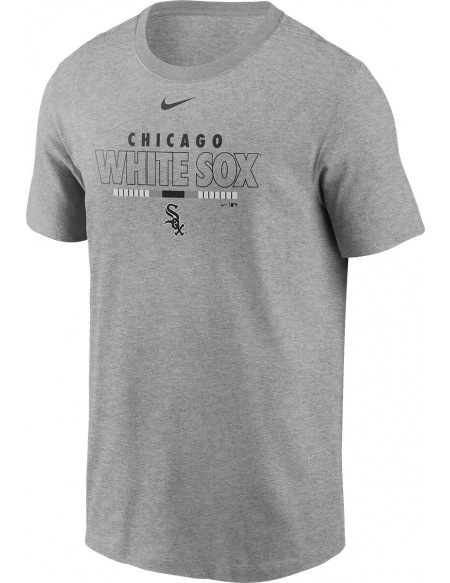 MLB Nike - Chicago White Sox T-shirt gris sombre chiné