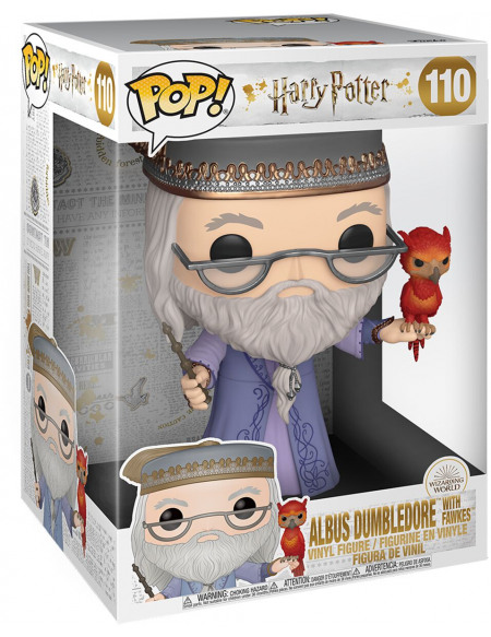 Harry Potter Dumbledore & Fumsec (Life Size) - Funko Pop! n°110 Figurine de collection Standard
