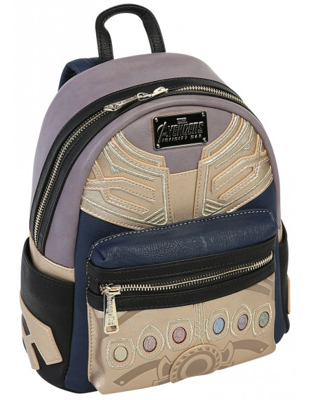 Avengers Loungefly - Thanos Sac à Dos multicolore