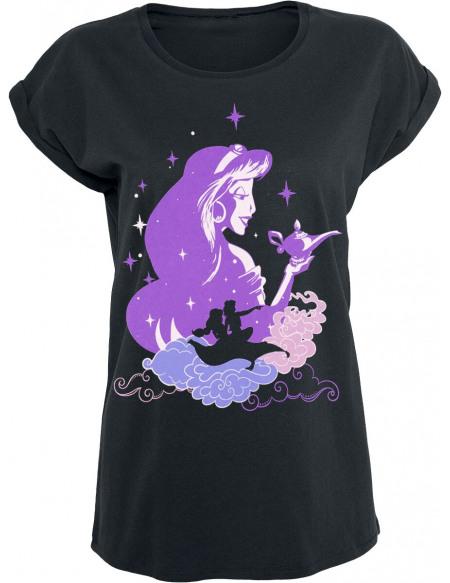 Aladdin Jasmine - Tapis Volant T-shirt Femme noir