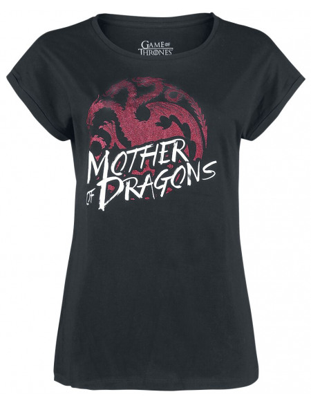 Game Of Thrones Mother Of Dragons T-shirt noir