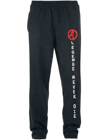 Avengers Logo Pantalon de Jogging noir