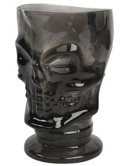 Skull Pitcher Carafe noir