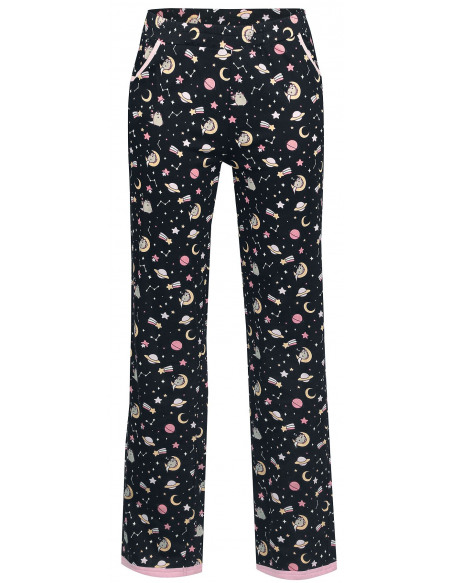Pusheen Zzz Bas de pyjama noir