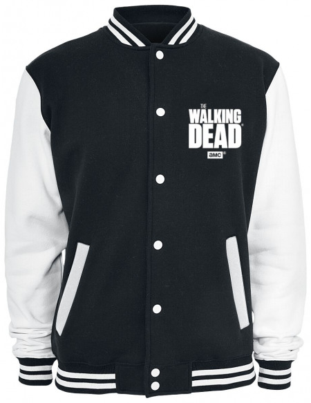 The Walking Dead Daryl Dixon - Fight The Dead - Wings Veste de Football Américain noir/blanc