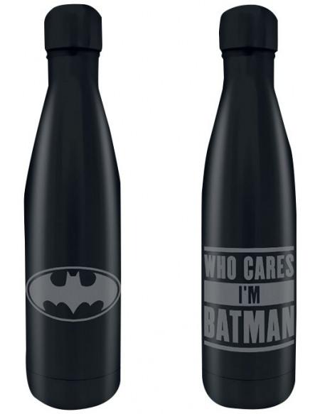 Batman Who Cares I´m Batman Bouteille noir
