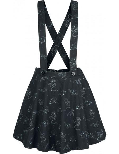 Alice Au Pays Des Merveilles Cheshire Cat Jupe noir