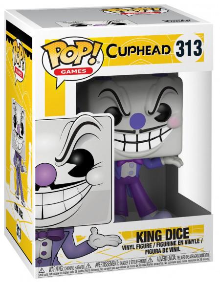 Cuphead Figurine En Vinyle King Dice 313 (Chase Possible) Figurine de collection Standard