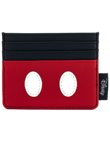 Mickey & Minnie Mouse Loungefly - Mickey Classic Porte-cartes noir/rouge/blanc