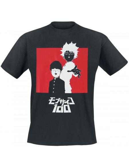 Mob Psycho 100 Shigeo Kageyama T-shirt noir