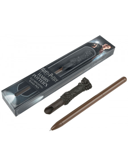 Harry Potter La Baguette Magique D'Harry Potter Stylo à Bille marron clair/marron foncé