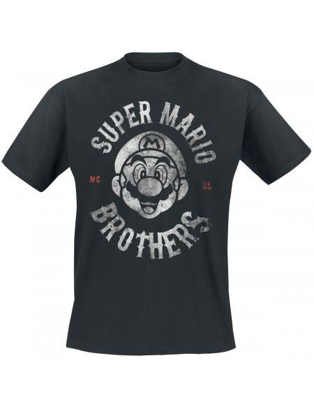 Super Mario MC 85 T-shirt noir