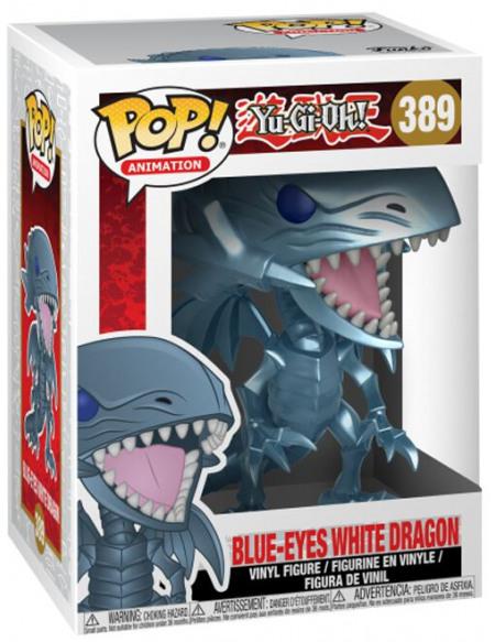 Yu-Gi-Oh! Figurine En Vinyle Dragon Blanc Aux Yeux Bleus 389 Figurine de collection Standard