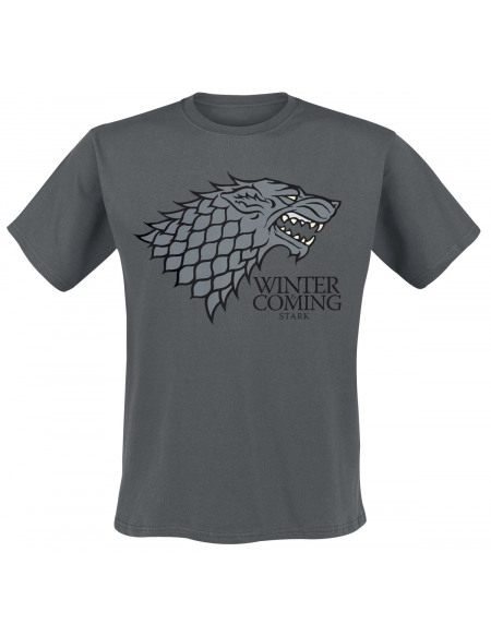 Game Of Thrones Winter Is Coming T-shirt anthracite