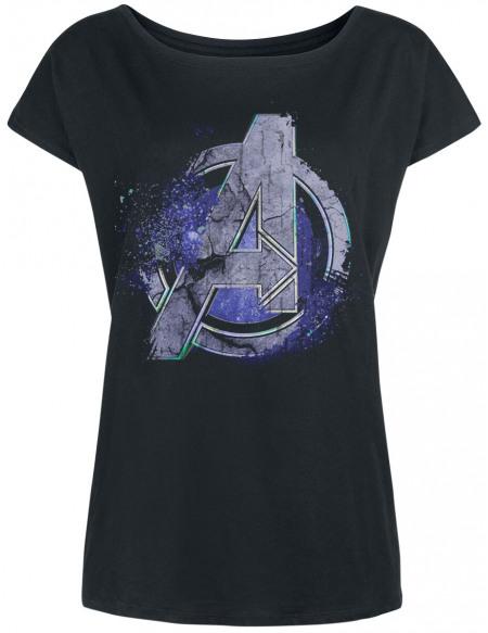 Avengers Endgame - Logo T-shirt Femme noir