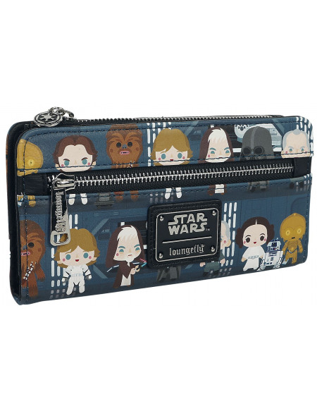 Star Wars Loungefly - Chibi Portefeuille multicolore
