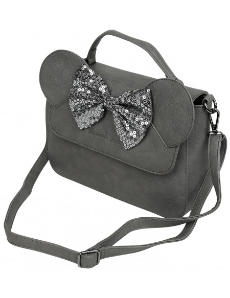 Mickey & Minnie Mouse Loungefly - Minni Sac à Main gris