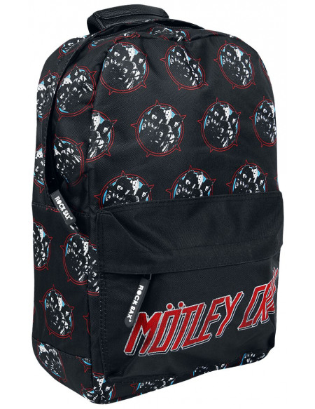 Mötley Crüe Heavy Metal Power Sac à Dos noir
