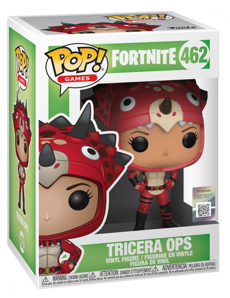 Fortnite Tricera-Tops - Funko Pop! n°462 Figurine de collection Standard
