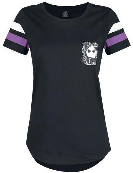 L'Étrange Noël De Monsieur Jack Jack Skellington - 93 T-shirt Femme noir