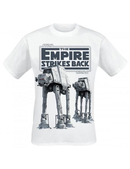 Star Wars AT-AT T-shirt blanc