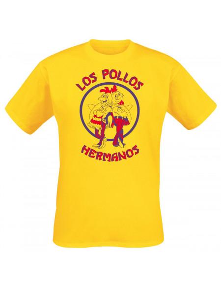 Breaking Bad Los Pollos Hermanos T-shirt jaune
