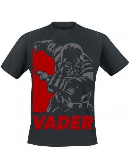 Star Wars Vader T-shirt noir
